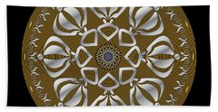 Circulosity No 2923 Beach Towel