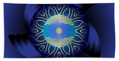 Circulosity No 3123 Beach Towel