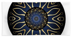 Circulosity No 3126 Beach Towel