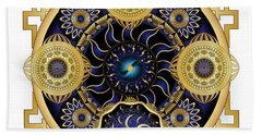 Circulosity No 3129 Beach Towel