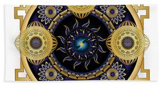 Circulosity No 3130 Beach Towel