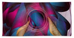 Circulosity No 3271 Beach Towel