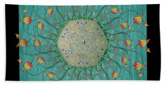 Circulosity No 3274 Beach Towel