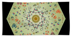 Circulosity No 3278 Beach Towel
