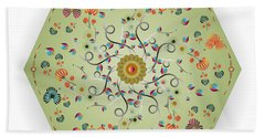Circulosity No 3279 Beach Towel
