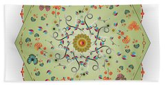 Circulosity No 3280 Beach Towel