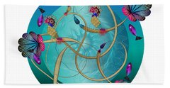 Circulosity No 3410 Beach Towel