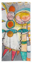 Circus One Beach Towel