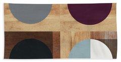 Cirkel Quad- Art By Linda Woods Beach Towel