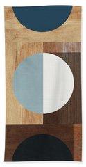 Cirkel Trio- Art By Linda Woods Beach Towel