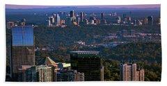 Cities Of Atlanta Beach Towel