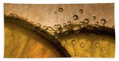 Citrus Abstract Beach Sheet