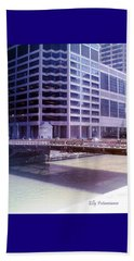 City Bridge Beach Towel
