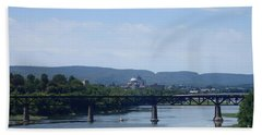 City Bridges Beach Towel