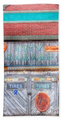 City Garage Beach Towel by Toma Caul