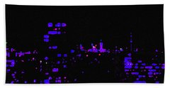 Toronto City Lights Beach Towel