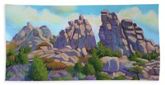 City Of Rocks Beach Towel