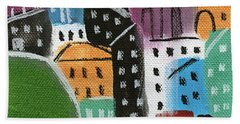 City Stories- By The Park Beach Towel