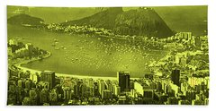 Beach Towel featuring the photograph City That Never Sleeps by Dennis Baswell