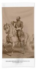 Civil War General James Garfield Beach Towel
