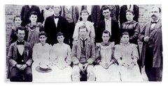 Class Of 1894 Bw Beach Sheet