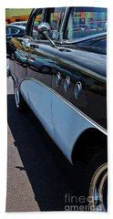 Classic 55 Buick Special Beach Sheet by Craig Wood