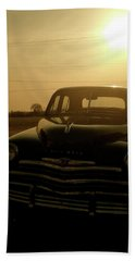 Classic America, Eight Beach Sheet by Iconic Images Art Gallery David Pucciarelli
