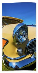 Beach Towel featuring the photograph Classic Car by Mariusz Czajkowski