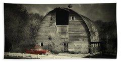 Classic Chevrolet  Beach Sheet by Julie Hamilton