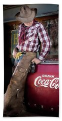 Classic Coca-cola Cowboy Beach Sheet