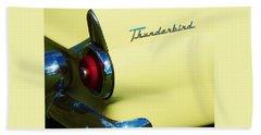 1955 Ford Thunderbird Beach Towel