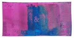 Beach Towel featuring the digital art Classico - S0307d by Variance Collections