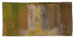 Beach Towel featuring the digital art Classico - S0309b by Variance Collections
