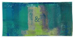 Beach Towel featuring the digital art Classico - S03c04 by Variance Collections