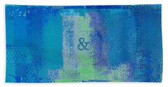 Beach Towel featuring the digital art Classico - S03c06 by Variance Collections