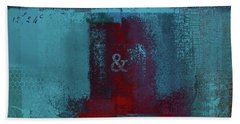Beach Towel featuring the digital art Classico - S03b by Variance Collections