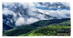 Beach Towel featuring the photograph Clearing Storm Highland Scenic Highway by Thomas R Fletcher
