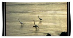 Clearwater Beach Beach Towel by Carolyn Marshall