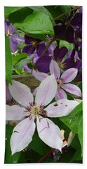 Clematis-ii Beach Sheet