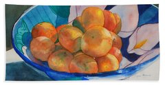 Clementines Beach Towel