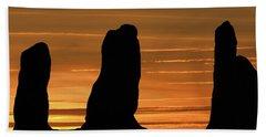 Clent Hills Sunset Beach Towel