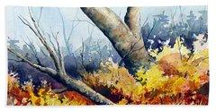 Cletus' Tree Beach Sheet by Sam Sidders