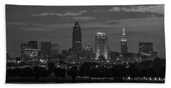 Cleveland After Dark Beach Sheet