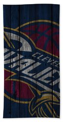 Cleveland Cavaliers Wood Fence Beach Towel
