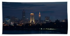 Cleveland Reflections Beach Towel