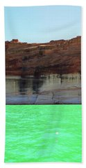 Cliff At Lake Powell Beach Towel