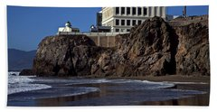 Cliff House San Francisco Beach Towel