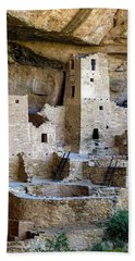 Cliff Palace Mesa Verde Beach Towel