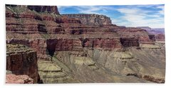 Cliffs In The Grand Canyon Beach Towel