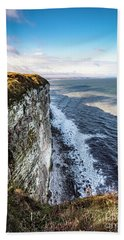 Cliffside View Beach Towel by Anthony Baatz